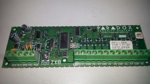 Módulo De Expansão De 16 Zonas Zx8 - Linha Sp Paradox