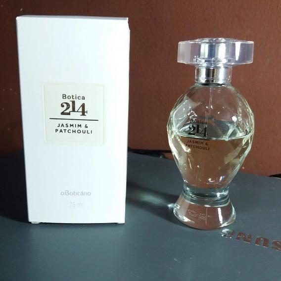 Perfume O Boticário Botica 214 Jasmim Patchouli 40ml Edp