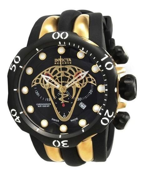 Relógio Invicta Reserve Venom Viper 0974 Completo