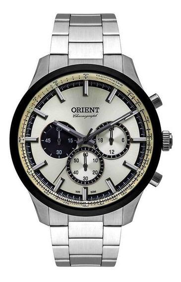 Relógio Masculino Orient Analógico Mbssc206 S1sx 44mm Wr50m