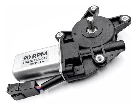 Motor 12v Dc 90 Rpm Com Caixa De Redução 90rpm Alto Torque