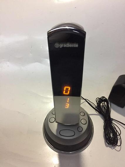 Radio Relogio Gradiente Cr 600 Am/fm Defeito Nao Liga Leia
