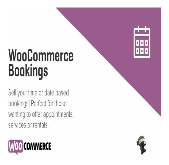 Woocommerce Bookings - Plugin Wordpress Atualizado
