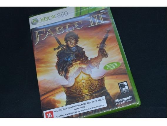 Fable Iii / Fable 3 - Jogo Original Microsoft Para Xbox 360