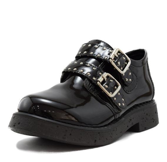 Zapato Botineta Charol Negro. Oferta Últimos Pares!!