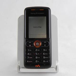 Sony Ericsson W200i Desbloqueado Original Gprs Preto - Usado
