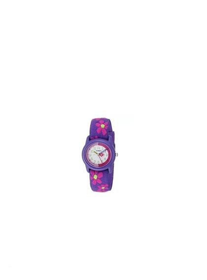 Timex Reloj Niñas Analógico Correa De Tela Elastica Pp