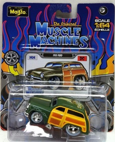 1950 Ford Woody Antigua Maisto Muscle Machines 1/64