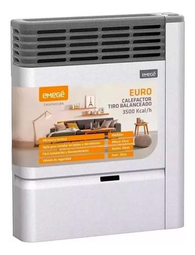 Calefactor Emege Euro 2135tb 3500 Calorias Tiro Balanceado