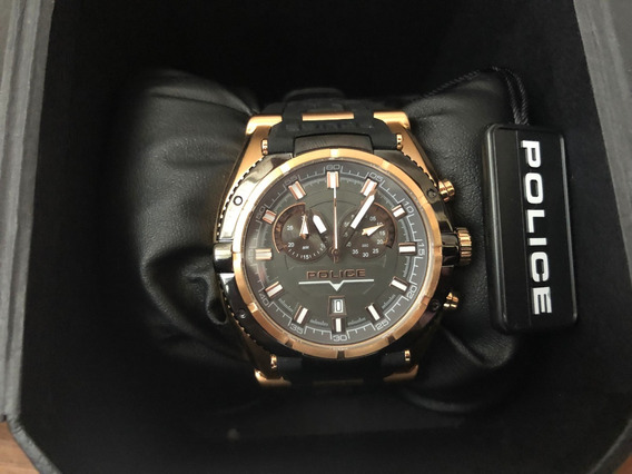 Relogio Pulso Police Raptor Moto Chonograph Watch 14215j
