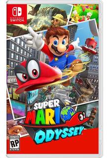 Super Mario Odissey Nintendo Codigo Oferta