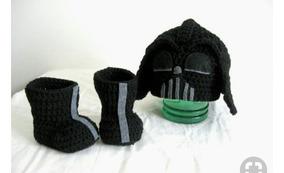 Stars Wars De Crochê Darth Vader Newborn