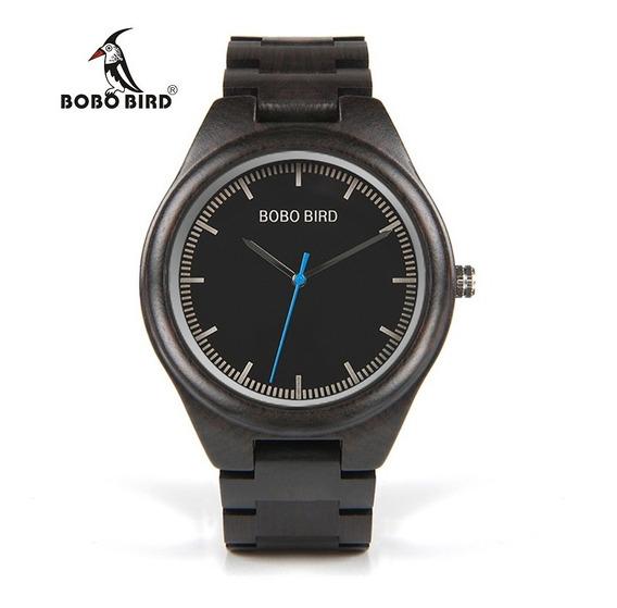 Relógio Bobo Bird Original Importado Madeira Ponteiro Barato