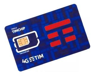 Chip Tim 4g (postagem Em Até 24 Hrs)