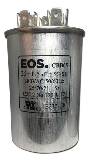 Capacitor D258 25+1.5mfd 380v 1pc