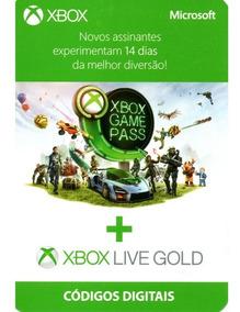 Xbox Live Gold + Game Pass 14 Dias Trial