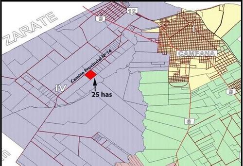 Fracción Industrial 24 Has Altura Panamericana Km 79 Campana