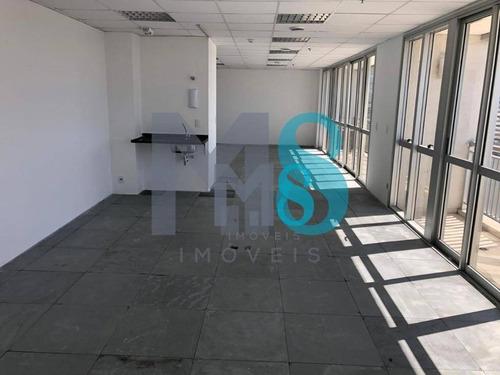Sala Para Alugar, 95 M² Por R$ 5.700,00/mês - Vila São Francisco (zona Sul) - São Paulo/sp - Sa0042