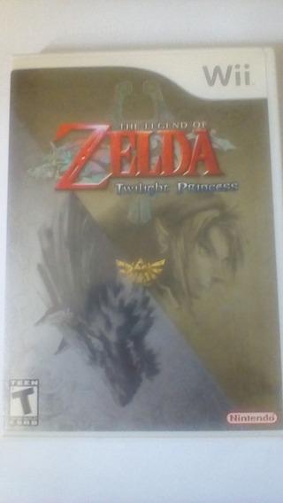 The Legend Of Zelda Twilight Princess Wii Original.