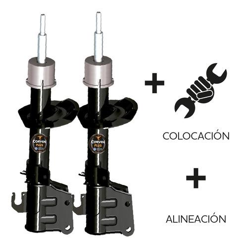 Imagen 1 de 4 de Cambio Amortiguadores Delanteros + Alineacion Clio