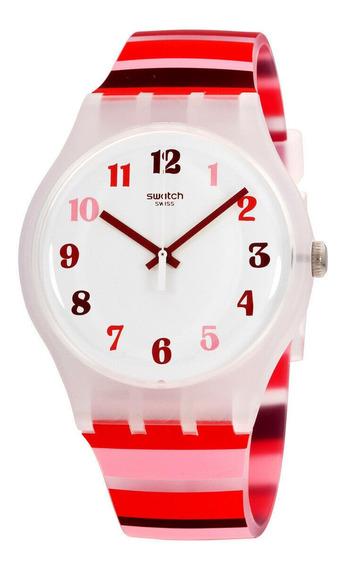 Relógio Masculino Swatch Suok138 Pulseira De Silicone