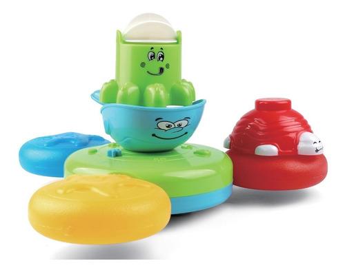 Imagen 1 de 8 de Juguete Para Bañadera Bebe Paraíso De Animales Zippy Toys