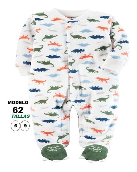 Ropa De Bebes Carters Pijamas, Tallas 3 A 9 Meses Tela Polar