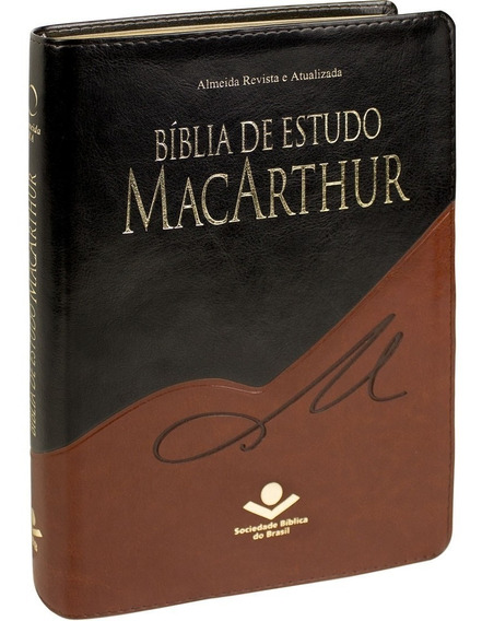 Bíblia Macarthur De Estudo + De 21.000 Notas De Estudo Sbb