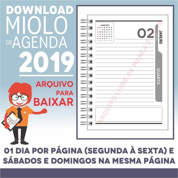 Download Miolo Agenda 2019 | Pdf E Corel Draw X7 | A5p12m6