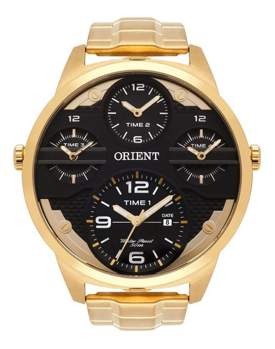 Relogio Masculino Orient  Mgsst002 P2kx Dourado