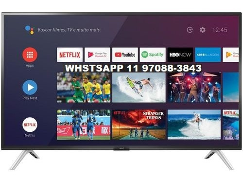 Smart Tv Android Led 32 Semp 32s5300 Bluetooth 2 Hdmi 1 Usb