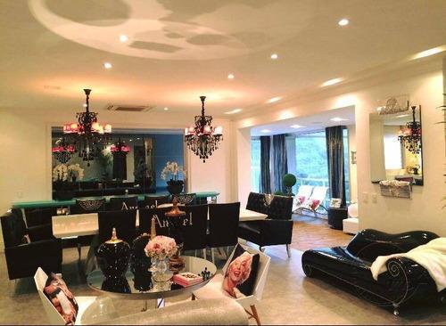Imagem 1 de 29 de Apartamento À Venda, 367 M² Por R$ 3.800.000,00 - Tamboré - Santana De Parnaíba/sp - Ap0454