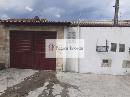 Casa Com 3 Dorms, Balneário Regina Maria, Mongaguá - R$ 230 Mil, Cod: 858210 - V858210
