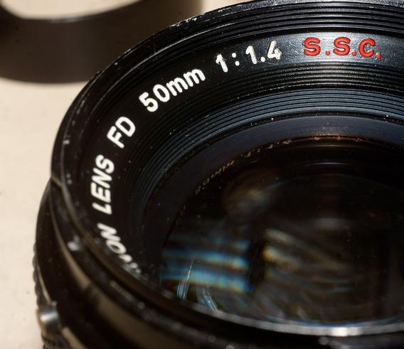 Canon Fd 50mm 1.4 Ssc. Para Canon Ef