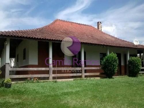 Chácara Com 3 Dormitórios À Venda, 900 M² - Recreio Santa Rita - Suzano/sp - Ch0050 - 68322393