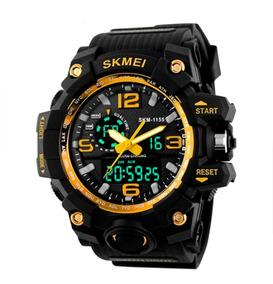 Relógio Skmei Com Caixa Original Prova D´água Estilo G Shock