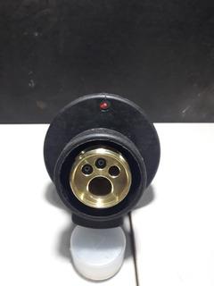 Acople Euro Conector P/ Torchas Mig Con Protector Plastic