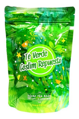 Te Verde Goslim Repuesto X30 Tisanas 100% Original Liu