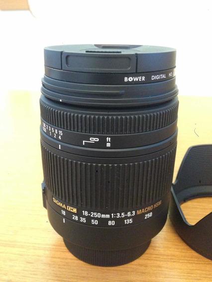 Lente Sigma 18-250mm F3.5-6.3 Dc Macro Hsm - Pentax