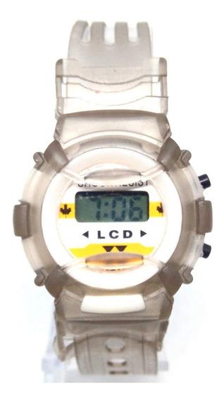 Relógio Infantil Lcd Lova