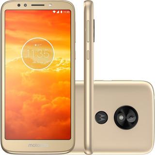 Smartphone Motorola E5 Play Quad-core 16gb Ouro - Xt192019