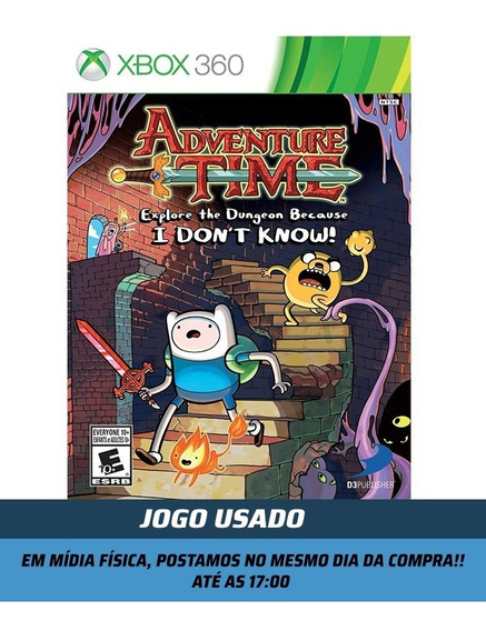 Jogo Adventure Time Explore The Dungeon Because I Dont Know