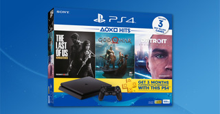 Consola Ps4 Playstation 4 Slim 1tb + 3 Juegos Techmovil