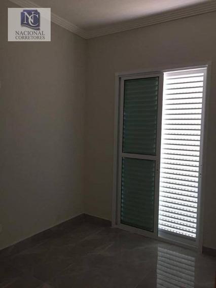 Apartamento Com 2 Dormitórios À Venda, 38 M² Por R$ 230.000 - Parque Jaçatuba - Santo André/sp - Ap8097