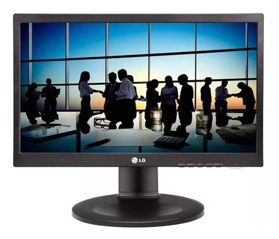Monitor Lg Pivot (altura Ajustável) 19.5 20m35pd Com Nota