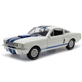 Shelby Gt 350 1966 1:18 Shelby Collectibles Branco
