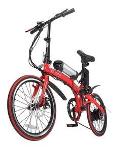 Bike Dobrável Pliage + Kit Elétrico Twodogs Vermelho