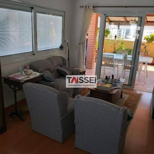 Imagem 1 de 20 de Cobertura Com 4 Dormitórios À Venda, 420 M² Por R$ 2.480.000,00 - Campo Belo - São Paulo/sp - Co0143