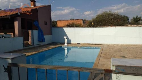 Chácara Com Piscina 2 Casas Com 2 Dormitórios Suite, Sala, Cozinha, Banheiro, Espaço Gourmet, Permuta Em Piracicaba - Ch0199