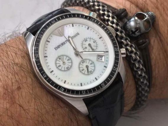 Empório Armani Chronograph Ar-5670 Quartz Wr50m
